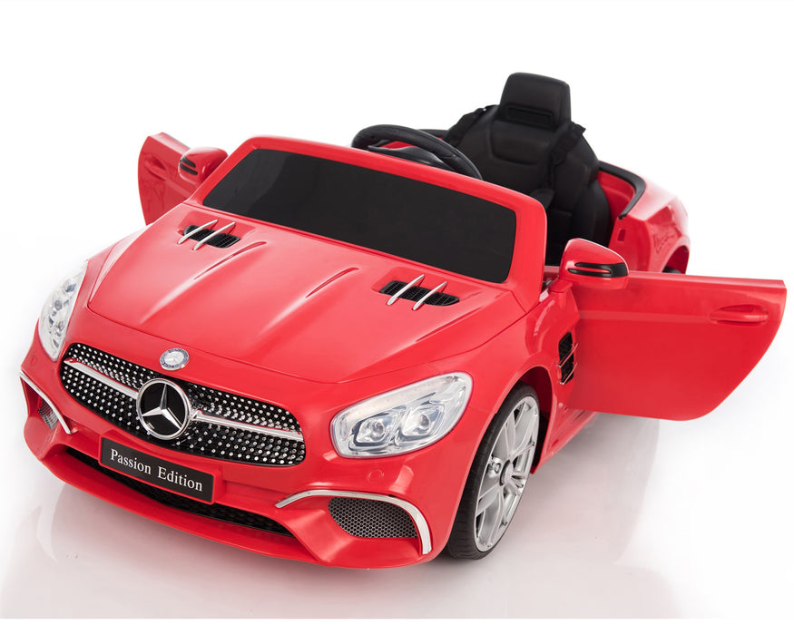 wtd6wj licensed mercedes sl400 electric ride on car battery powered with remote music pink