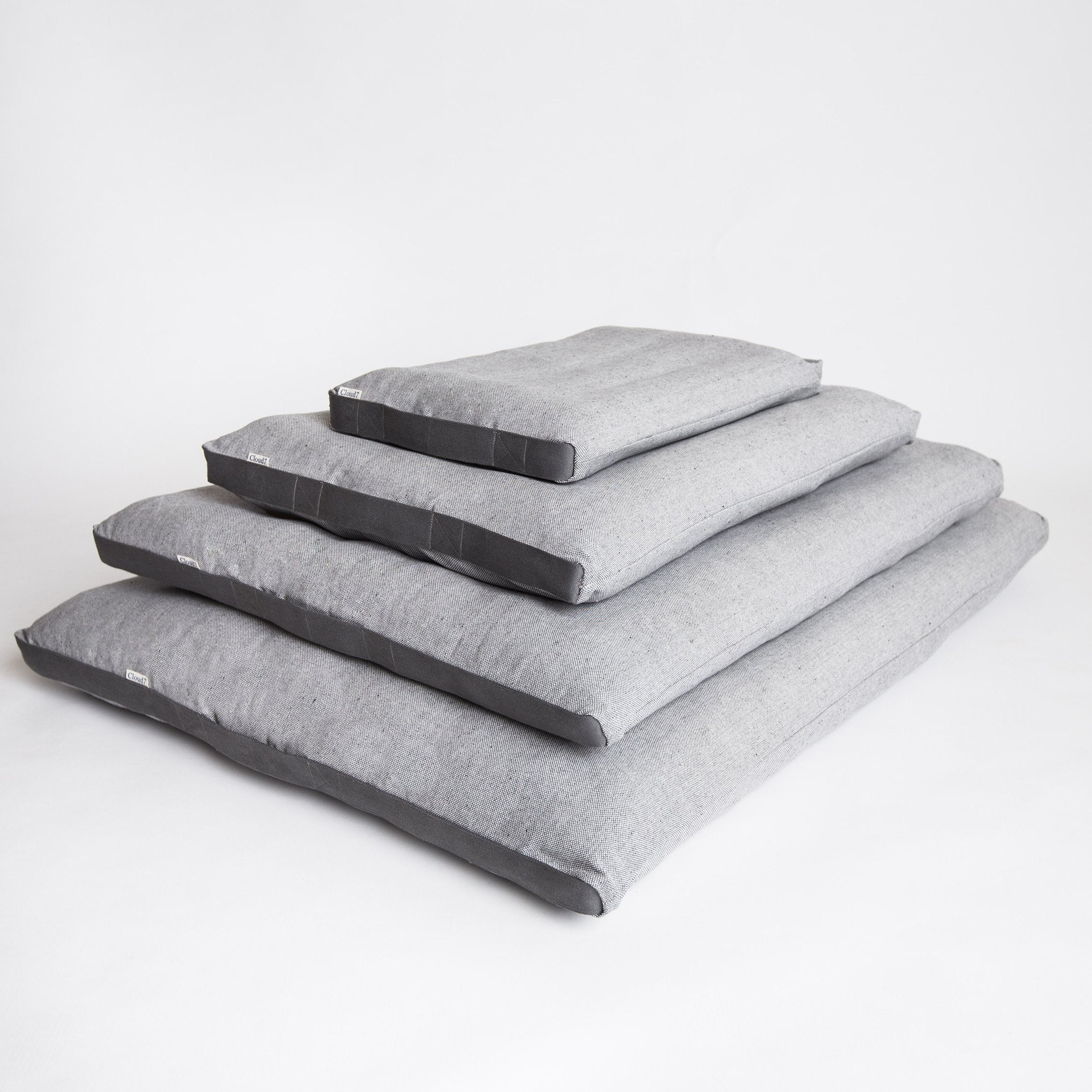 Cloud 7 Siesta Dog Bed - Tweed Grey