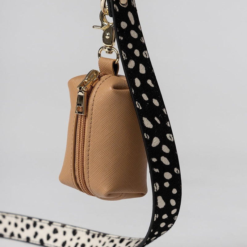 Mister Woof Mister Woof Leather Leash - Classic Polka Dot