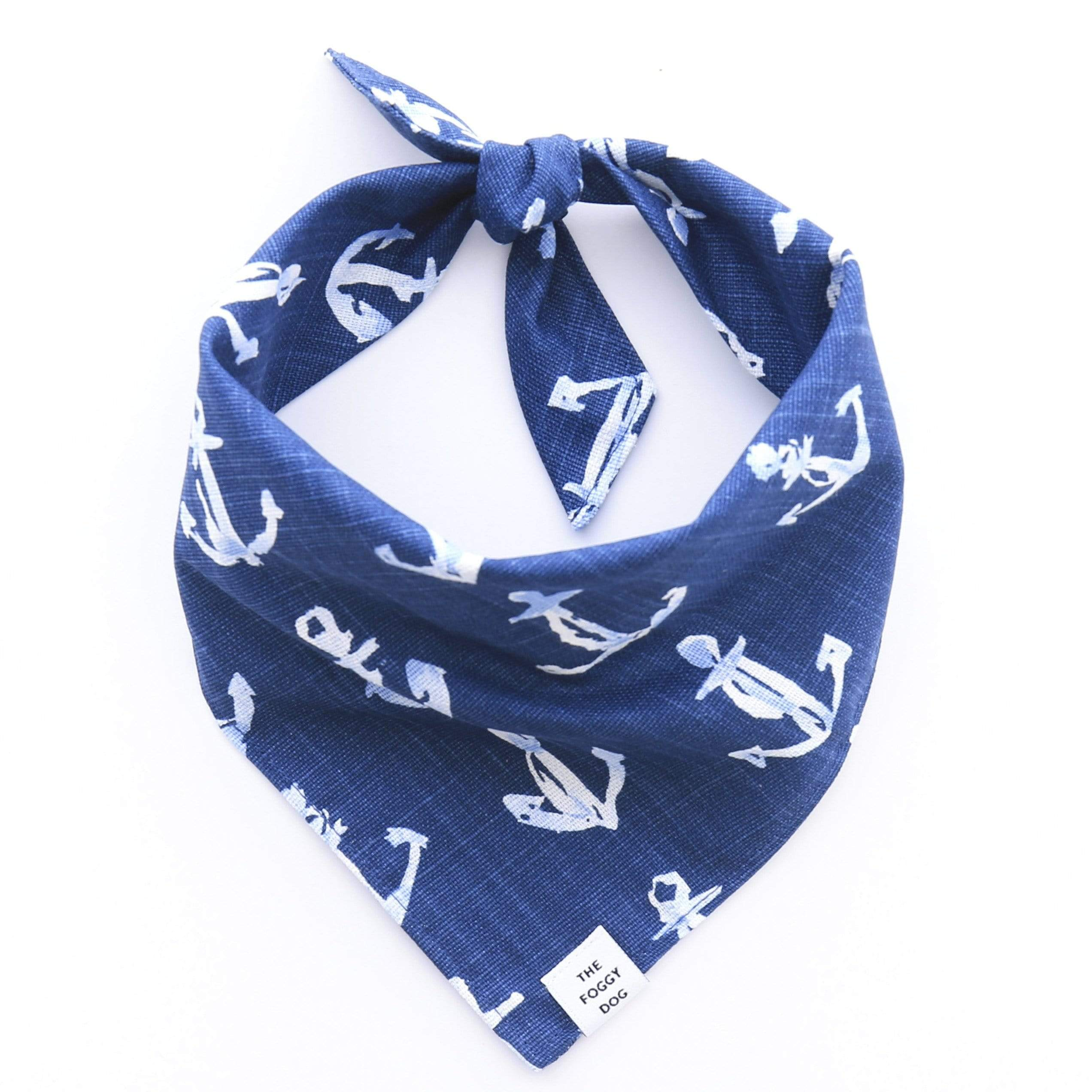The Foggy Dog Dog Bandana - Down by the Sea