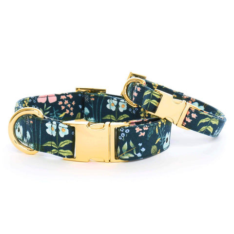 The Foggy Dog Herb Garden Dog Collar