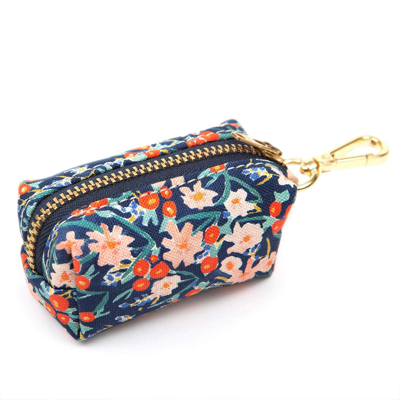 Leash Bag - Inky Blooms