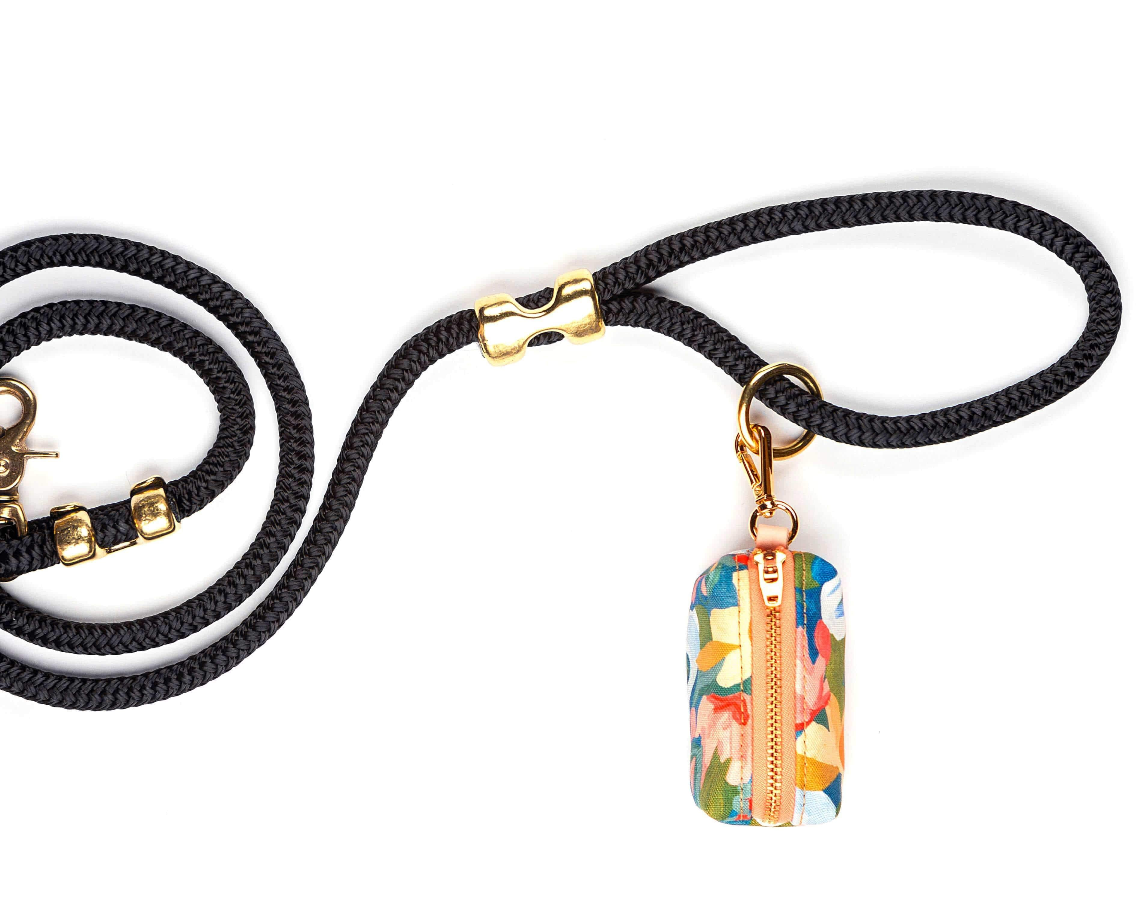 The Foggy Dog Leash Bag - Wildflower