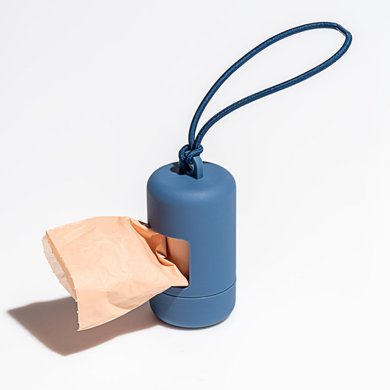 Poop Bag Carrier - Blue