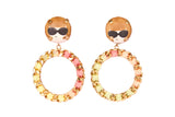 ANNA HOOPS EARRINGS