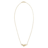 GOLD MERMAID NECKLACE WILHELMINA GARCIA
