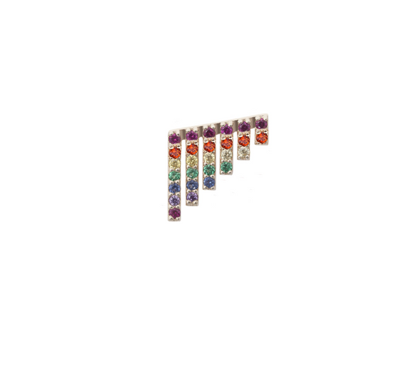 RAINBOW WATERFALL EARRING
