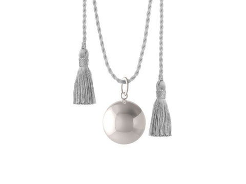 JOY PREGNANCY GREY NECKLACE