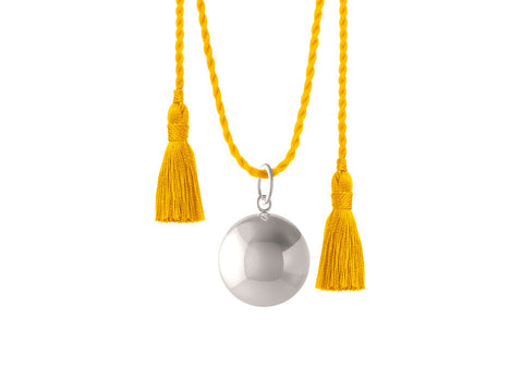 JOY PREGNANCY YELLOW NECKLACE