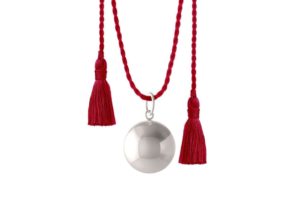 JOY PREGNANCY RED NECKLACE