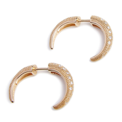 HORN EARRINGS (3 COLORS)
