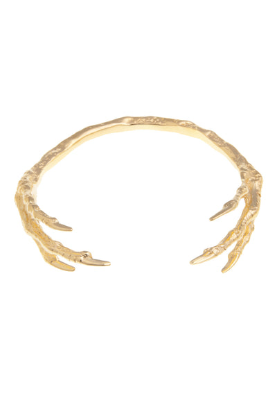 GOLD BIRD CLAW CUFF