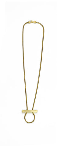 GREENWICH GOLD NECKLACE