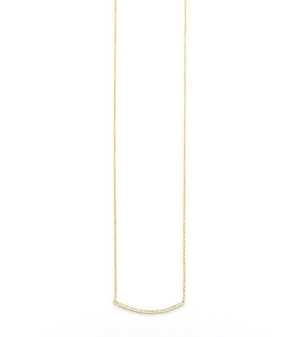 CRYSTAL BAR NECKLACE (3 COLORS)