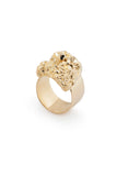 GOLD CRYSTALLISE TIARA RING
