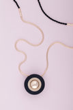 KIN BOLA PREGNANCY NECKLACE ONYX BLACK