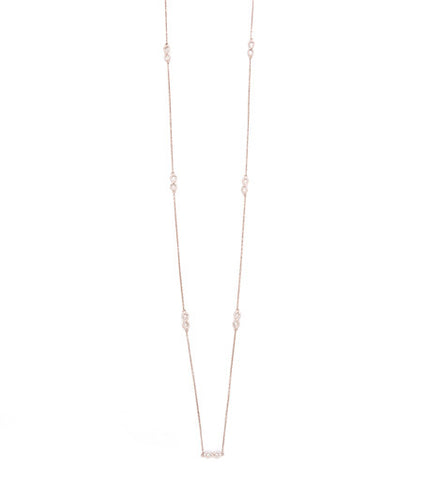 INFINITY LONG NECKLACE (3 COLORS)