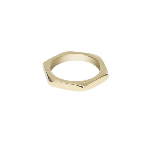 GOLD NUT RING