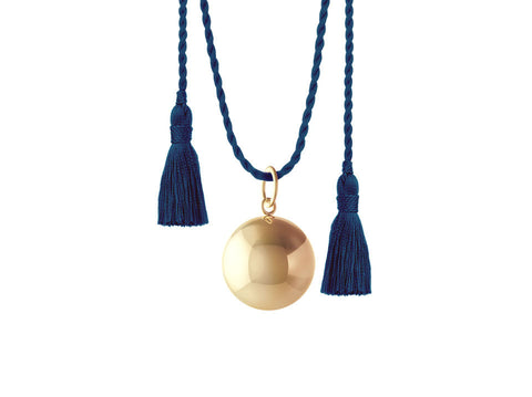 JOY PREGNANCY NAVY NECKLACE