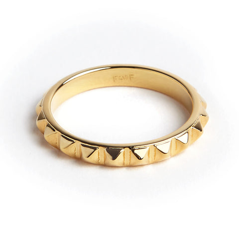 PYRAMID RING ( 3 COLORS)