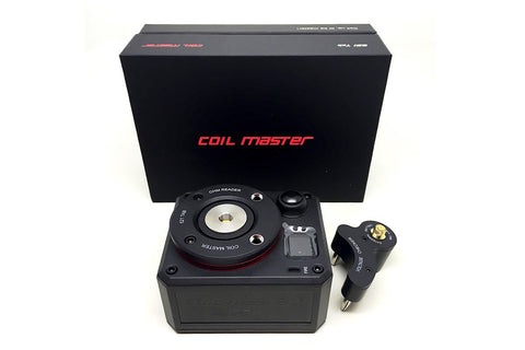 Coilmaster 521 Tab Ohm and Voltage Reader