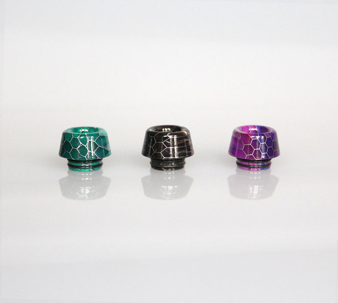 Wide bore Resin Drip Tips 810  - Type 1