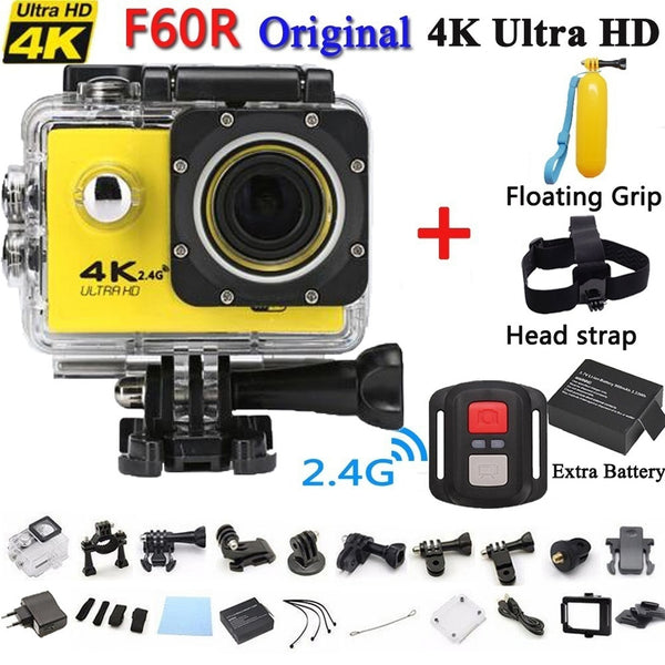 Action Sports 30-Meter Waterproof Ultra HD 4K Camera