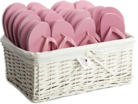 Zohula * Baby Pink * Originals Party Pack - 20 Pairs - Wedding Flip Flops