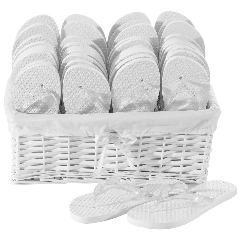 Zohula Wedding Essentials Party Pack - 20 Pairs - Wedding Flip Flops
