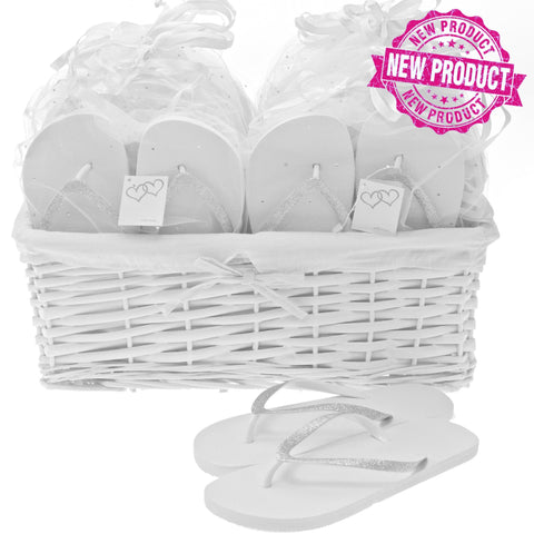 flip flop wedding basket
