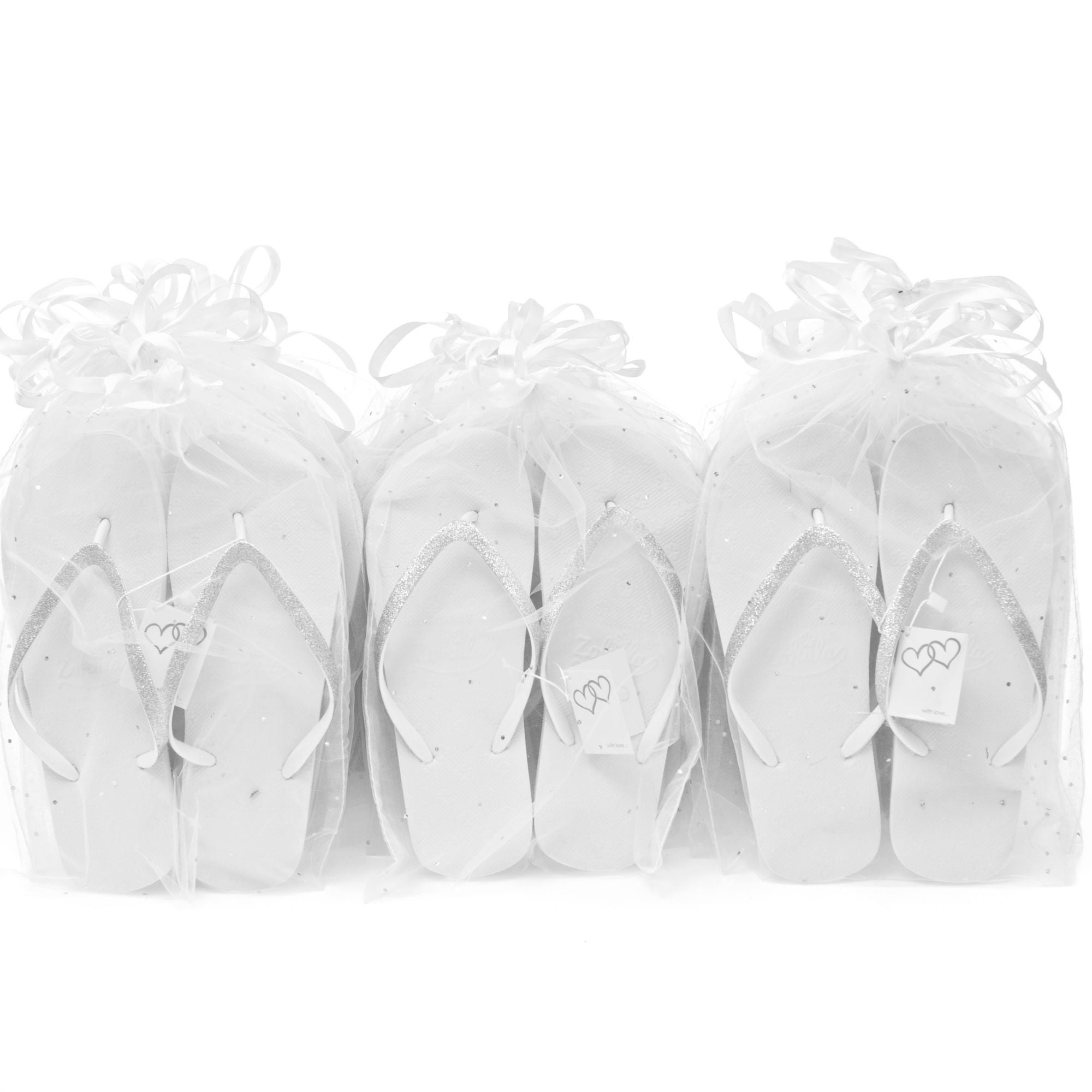 glits wedding favour flip flops