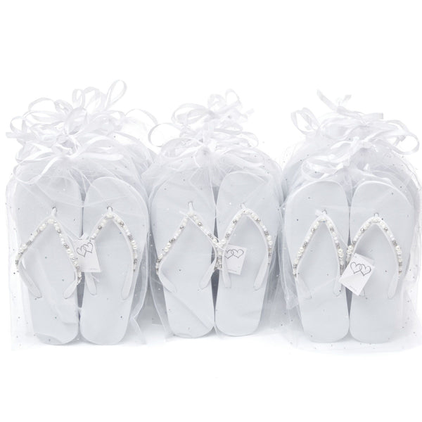 wedding favour flip flops