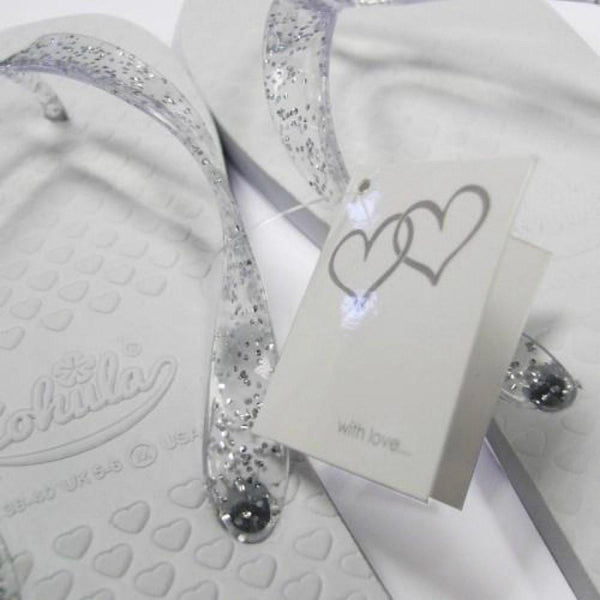 Zohula * White * Wedding Premier Party Pack - 20 Pairs - Wedding Flip Flops