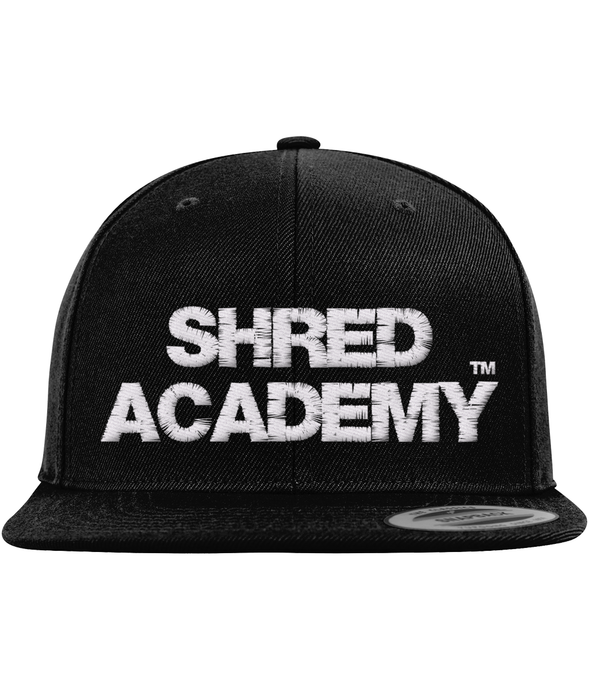The Classic Snapback Shred Academy Cap