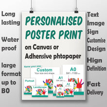 Poster Printing - Personalized Photo
