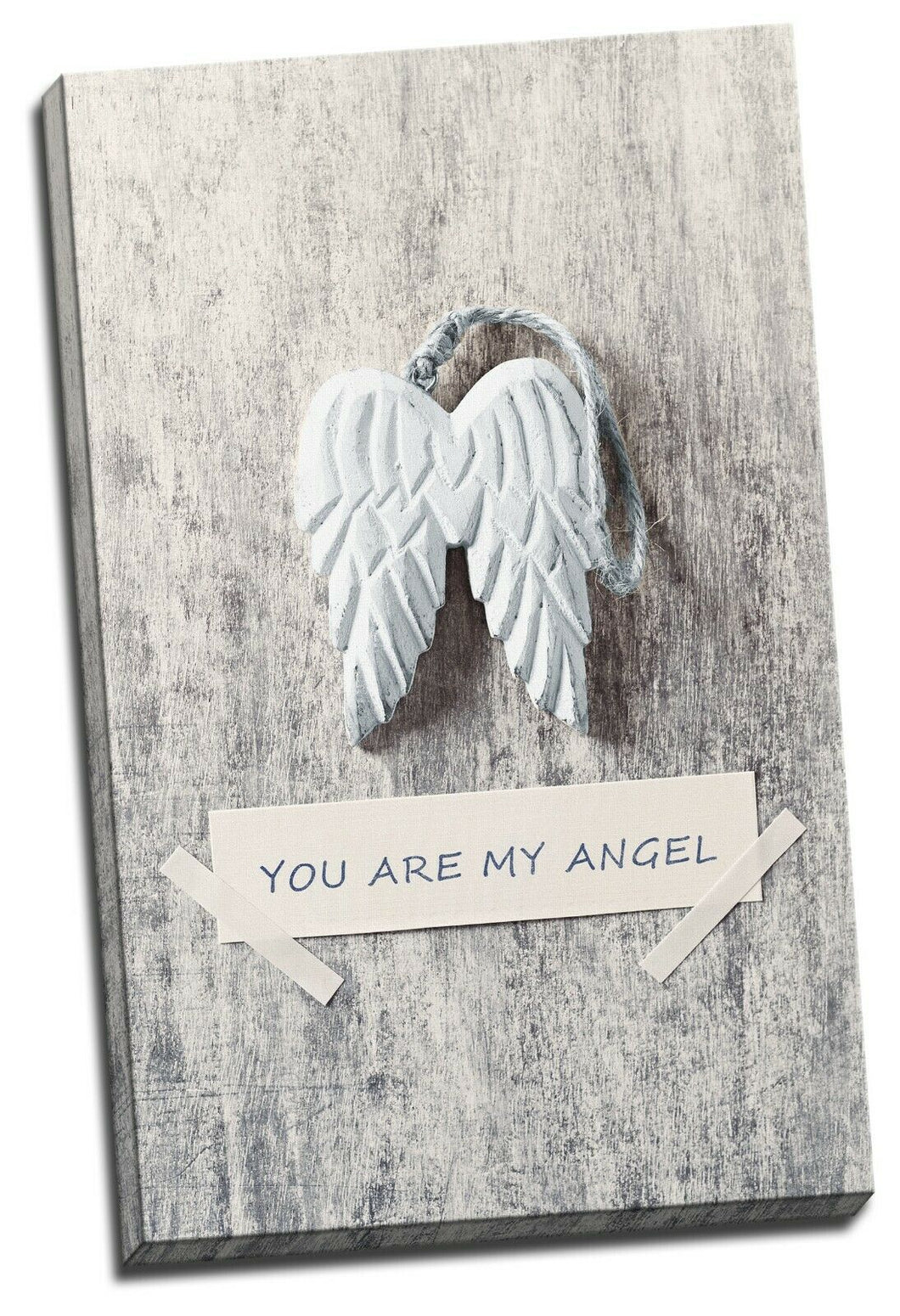 You are my Angel Feather Wing Framed Canvas Prints Modern Wall Art Home Decor