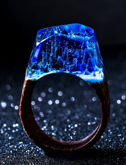 Mystical Nature Landscape Ring