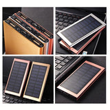 Ultra Thin Solar Power Bank With Built-In LED