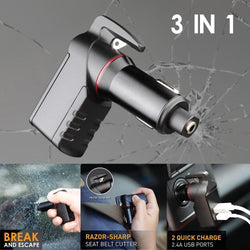 SafetyX™ 3 in 1 Car Multi Tool