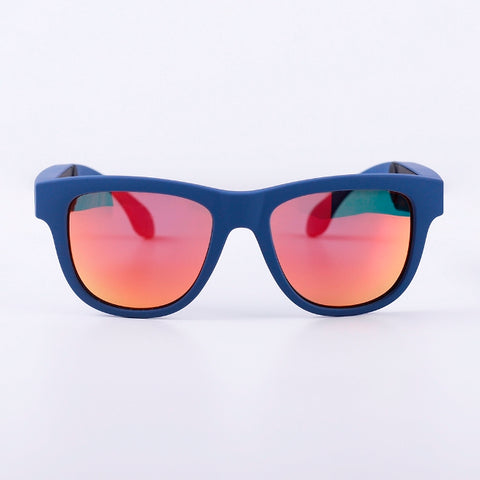 dd93f08202 Ark VIEW Orange smart sunglasses-Blue frame – Arkwrist.com