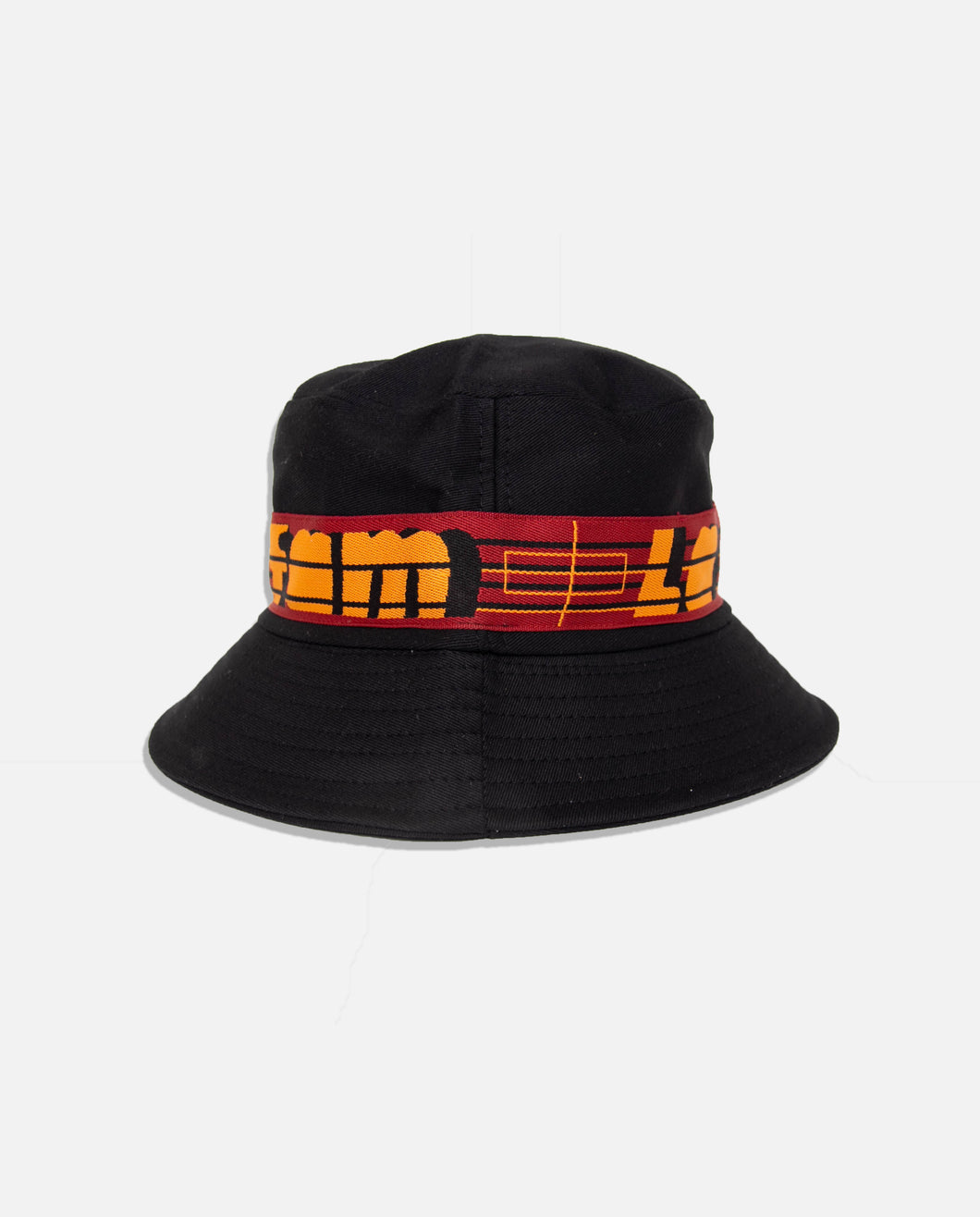 BUCKET HAT BLACK - La Fam Amsterdam
