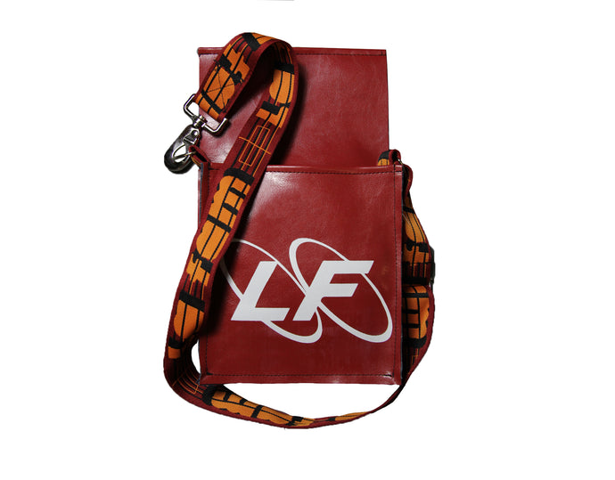 RED MESSENGER BAG