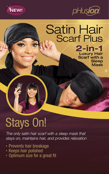 pHusion Satin Hair Scarf Plus