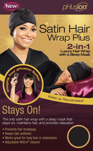 pHusion Satin Hair Wrap Plus