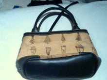 Vtg Etienne Aigner Canvas Crossbody Handbag (Authentic)