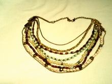 10' Multi-Strand Multi Bead Necklace - New!