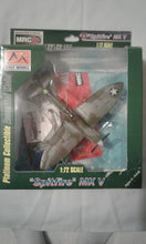 "1:72 SCALE DIECAST WWII ""SPITFIRE"" MK V MODEL AIRCRAFT- PLATINUM COLLECTIBLE"