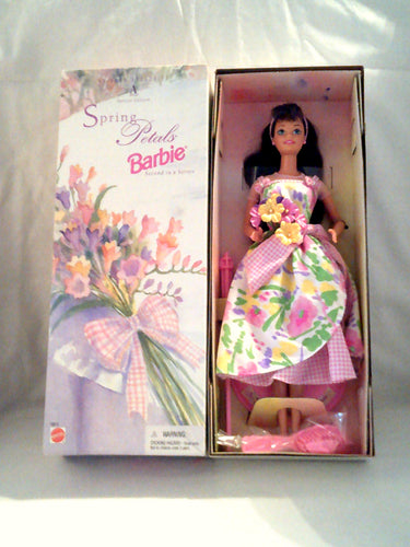 Spring Petals Barbie Collectible Doll - Avon Special Edition