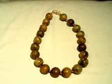 Desert Jasper 12mm Round Gemstones, Yellow Brown/19' Strand - Nice!