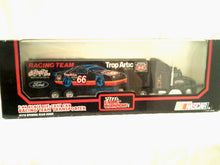 Nascar Trop Artic #66 1:64 Scale Die Cast Cab Racing Team Transporter - New